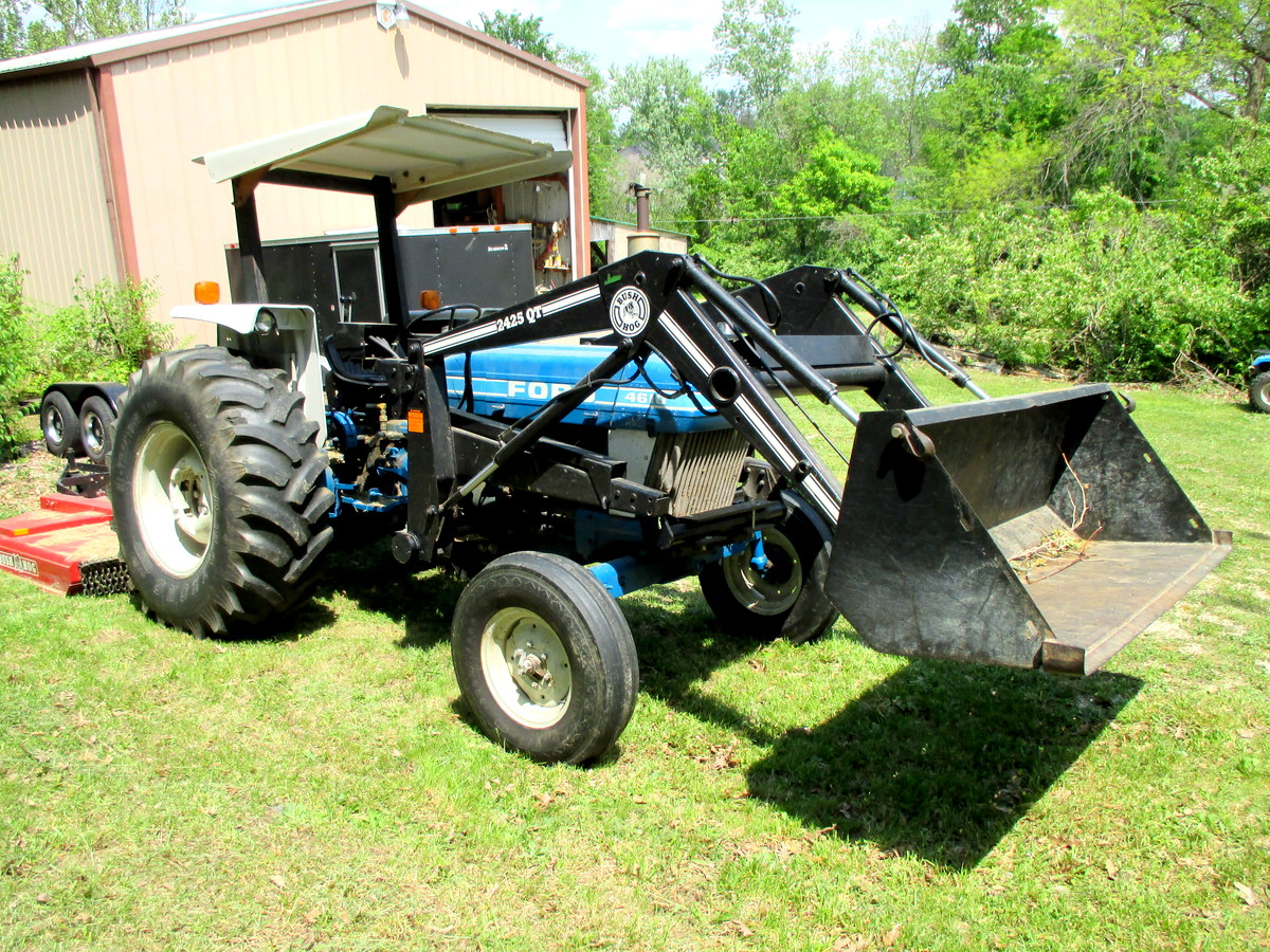 Yamaha Tractor With Loader
